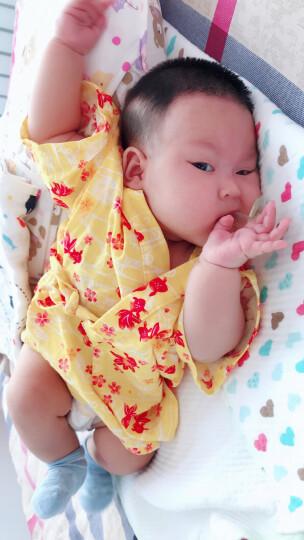 阿卡佳本铺 日本制儿童浴衣夏季日式分体浴衣 甚平 akachan honpo 蜻蜓 本白 80 晒单图