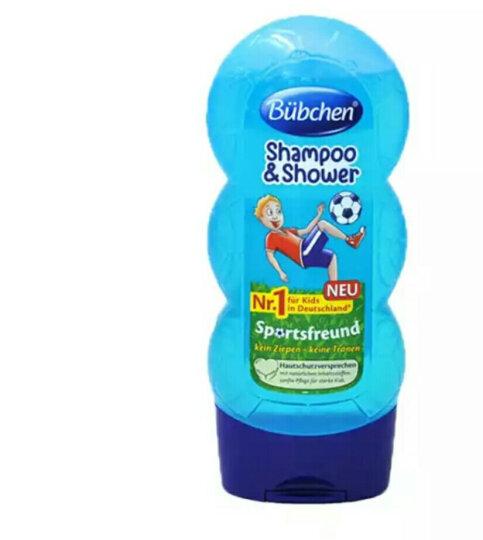 德国进口Bubchen宝比珊儿童洗发水沐浴露二合一无泪温和 足球小子二合一230ml 晒单图