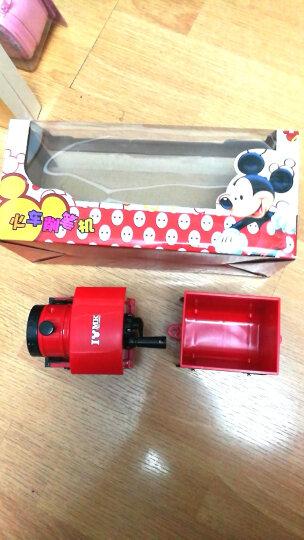 迪士尼(Disney)手摇削笔机/转笔刀/卷笔刀/削笔刀 火车笔削 红色DM20006M 晒单图