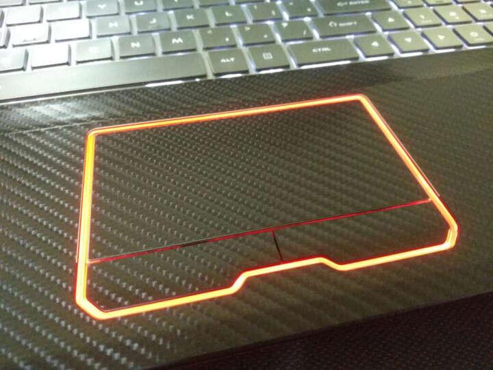 KH 雷神笔记本贴纸外壳膜 911SE黑武士S6玄武版dino ST-plus保护贴膜 黑钻石 911M系列 ABCD面 晒单图