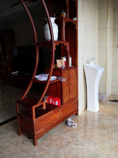 尚象卫浴(ELEFANTE) 立柱盆 小卫生间洗手盆 小型洗面盆 连体洗手盆 阳台洗脸盆 小盆+C龙头套餐 晒单图