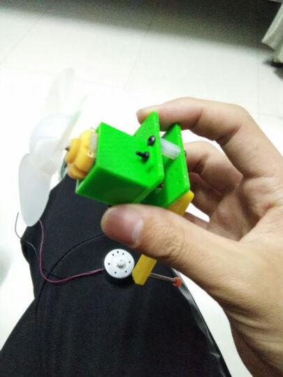 千水星 手摇发电机S2 DIY教育培训科技小制作 科学小发明 新能源科普手工模型玩具 S2绿色(1套) 晒单图