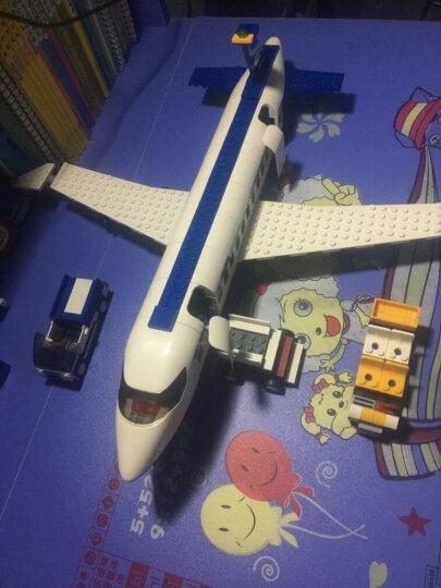 快乐小鲁班兼容乐高空中巴士拼装飞机航天航空系列模型大型客机男孩子玩具组装城市拼插拼装益智玩具8周岁6 0366 空中巴士 463片 晒单图