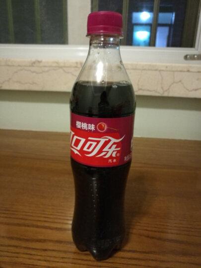 可口可乐 Coca-Cola 碳酸饮料 樱桃味可口可乐500ml*24瓶 晒单图