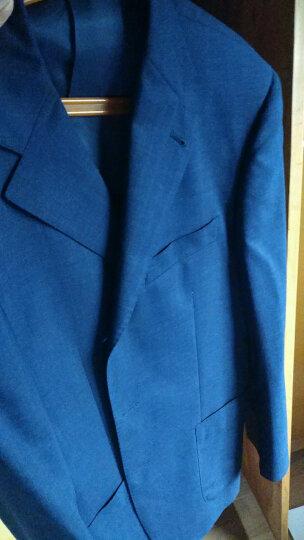 JUDGER庄吉 中年西服男 商务男士羊毛套装西服 男士条纹西装两件套 B款(套装价) 170/48B 晒单图
