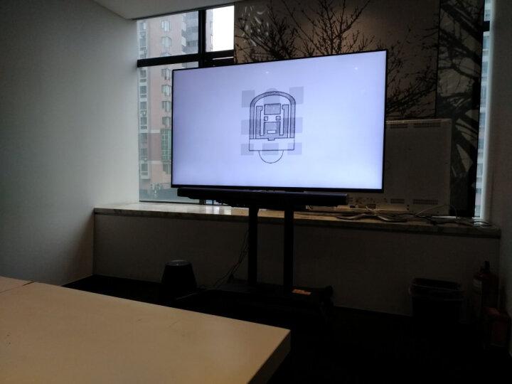 NB(NORTH BAYOU)CA70电视移动推车视频会议落地挂架教学一体机移动支架 50-80英寸 晒单图