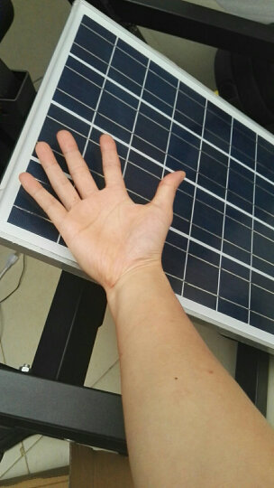 泰恒力太阳能电池板光伏发电系统组件家用12v户外太阳能发电板 晒单图