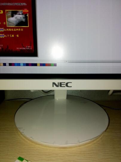 日电(NEC)高清IPS硬屏广视角窄边框液晶显示器 VE2308XI 23英寸 白色 23英寸 晒单图