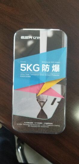 亿色(ESR)苹果x/xs/xr钢化膜iphone xs max全覆盖抗蓝光钢化玻璃手机前后背镜头膜 【曲面钢化背膜】真机调色-黑色【XR】 晒单图