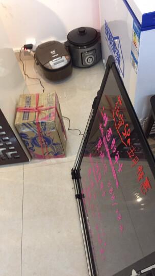 精创LED广告架手写发光字黑板荧光板40 60餐厅广告牌显示屏夜光招牌展示架电子美术用品 发光广告牌30*40cm 晒单图