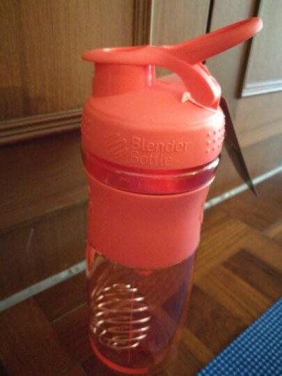 BlenderBottle 运动防滑款蛋白粉摇摇杯户外健身水杯带搅拌球 珊瑚色约800ml 晒单图