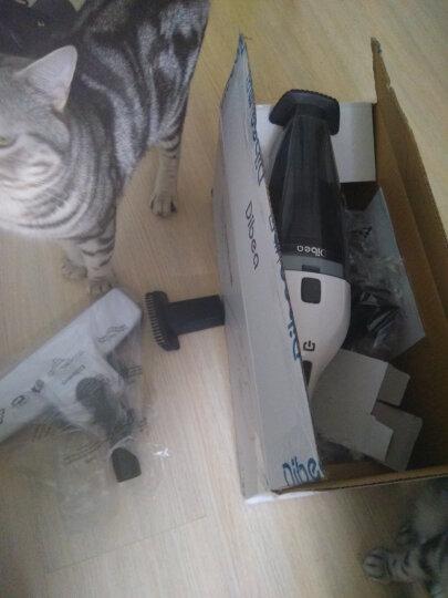 地贝Dibea家用无线手持立式充电吸尘器小型干湿两用车用LW-200 皓月白(5款吸头) 晒单图