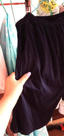 糖百合 情侣睡衣女夏短袖纯棉短裙 男士全棉夏季韩版女士女裙卡通可爱男士家居服套装 情侣8178短袖 女L 165/88A 晒单图