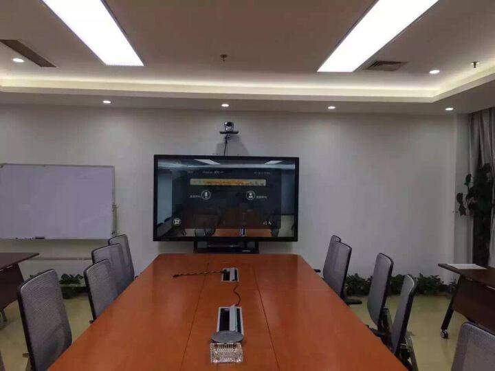 互视达(HUSHIDA) 多媒体教学会议一体机触控触摸电子白板电视智能会议平板商业显示器 标配/4G/120G-带支架 70英寸 晒单图