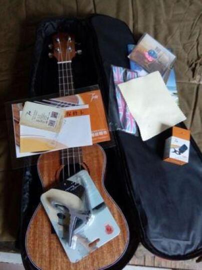 Tom 汤姆尤克里里21英寸23英寸26英寸乌克丽丽电箱吉它民谣吉他专业木吉他初学入门新手乐器 桃花芯木TUC-200哑光原木色 23寸 晒单图