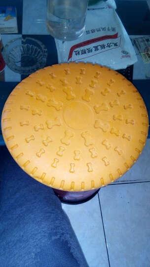 宠物耐咬飞盘狗狗用训练玩具 金毛边牧萨摩哈士奇橡胶飞碟硅胶飞 23cm大型犬硅胶飞盘 晒单图