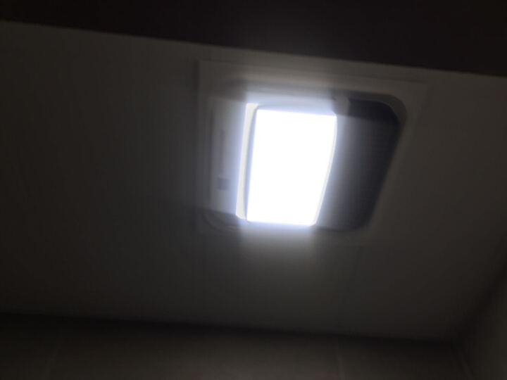 TCL 集成吊顶浴霸 led灯照明 陶瓷PTC风暖浴霸 浴霸配件里面的排气管 晒单图