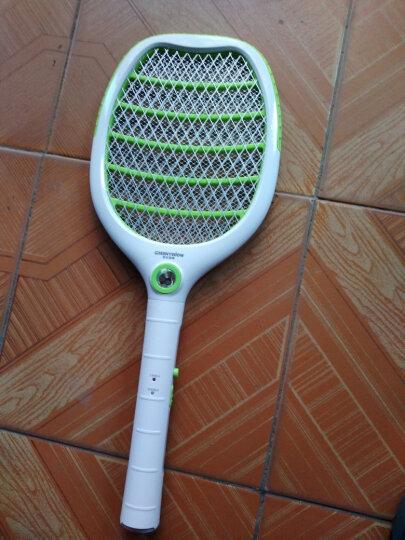 格林盈璐(GREENYELLOW) USB充电式锂电池电蚊拍MP001灭蚊拍充电锂电池 锂电池充电版(绿色) 晒单图