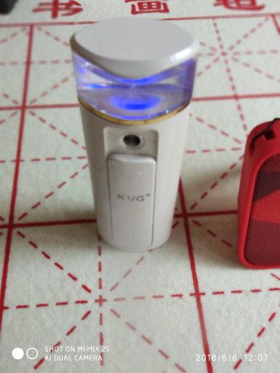 KVG 便携式纳米喷雾 补水仪M7美容仪喷雾器冷喷保湿蒸脸器面部加湿器补水家用 珍珠白 晒单图