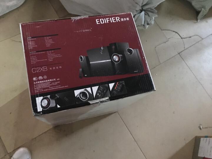 漫步者(EDIFIER)C2X 外置功放 全木质音箱  音响 电脑音箱 黑色 晒单图
