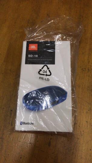 JBL SD-18 BLU 无线蓝牙音箱 迷你便携式插卡音响 手机/电脑外放播放器 FM收音机 可连U盘TF卡 蓝色 晒单图