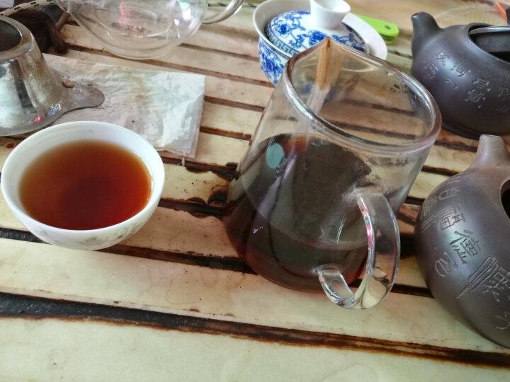 彩程陈年老普洱2006年冰岛250g 枣香熟砖 99%干仓大树 茶汤更甜 晒单图
