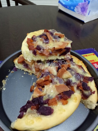 包邮 【巧厨烘焙_展艺披萨盘】家用烤盘烘焙模具 6寸8寸9寸10寸pizza盘 8寸(直径20cm) 晒单图