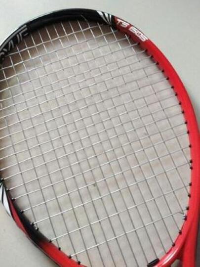 门特卡洛网球拍 碳素复合一体初学学生社团团购网球拍 红色 晒单图