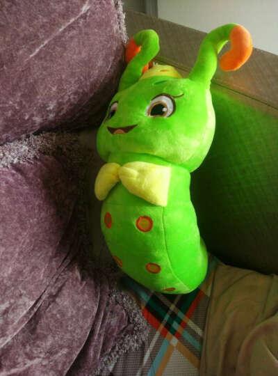 爱贤 花千骨糖宝毛绒玩具糖宝公仔布娃娃儿童节礼物圣诞节生日礼物女生玩偶毛毛虫 15厘米 晒单图