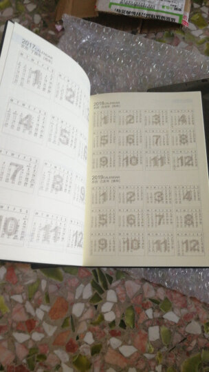 广博(GuangBo)彩色商务皮面笔记本文具a5加厚记事本子办公用品会议记录本 可定制LOGO A5酒红 112张 晒单图