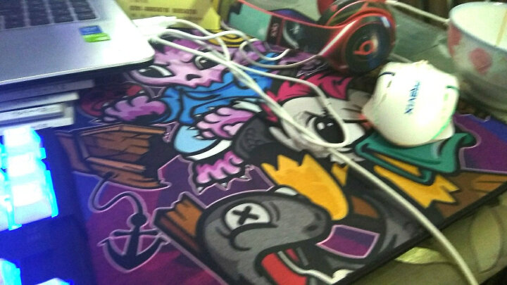 AKKO Akko Ducky EDG Newbee战队 主播真会玩鼠标垫/桌垫 EDG梦魇鼠标垫 晒单图