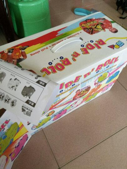 KO SHENG 儿童行李箱旅行箱可坐拖拉玩具骑行小孩宝宝个性拉箱子六一儿童节礼物 懒懒猪10036 晒单图