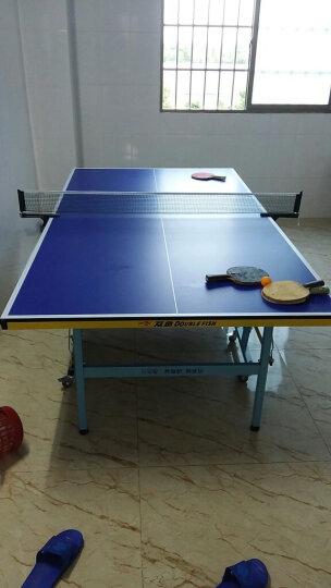 双鱼(DOUBLE FISH) 双鱼 儿童乒乓球桌 家用折叠移动乒乓球台 E1-儿童球台可折叠移动 晒单图