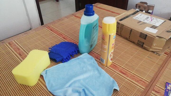 车仆带蜡洗车液汽车清洗剂清洁剂去污水蜡洗车液香波  1L香波套装清仓 晒单图