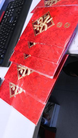 幽幽兔 婚庆用品结婚红包创意万元红包公司学生年终奖金大红包信封红包袋 奖金红包(2个装)万元款 晒单图