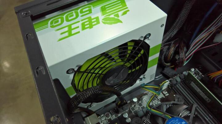 先马(SAMA)额定500W 省电王500电源(宽幅/82%转换效率/主动PFC/支持背板走线/服务器板材/电脑电源) 晒单图