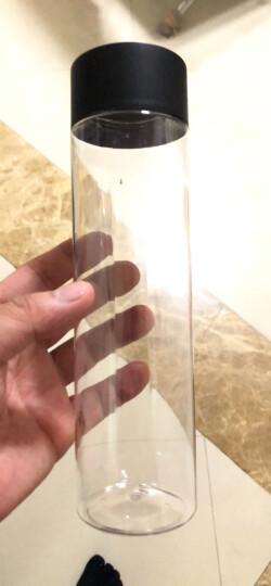 喇叭花一次性果汁瓶饮料瓶牛奶鲜奶瓶透明饮料酵素瓶PET配无孔盖 400直口-400ml有孔铝盖 晒单图