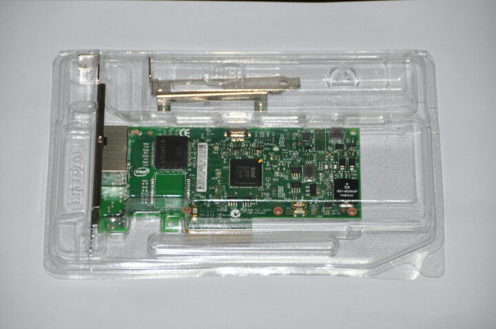 英特尔(Intel) I350T2BLK千兆PCI-E双口服务器网卡i350-t2 I350芯片 盒包 晒单图
