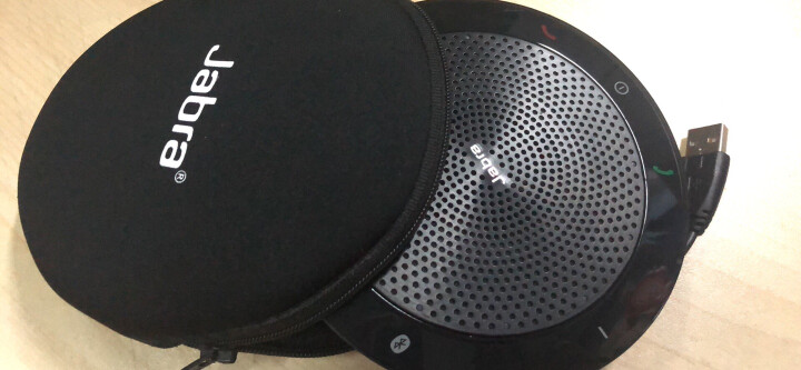 捷波朗(Jabra) speak 510 无线蓝牙 音频电话会议 免提通话扬声器 USB 全向麦克风 UC通用 晒单图