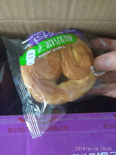 口口妙 手撕面包整箱800g*2箱香蕉牛奶小面包早餐点心蒸蛋糕零食大礼包 香蕉牛奶味1箱+酸奶提子味1箱 晒单图