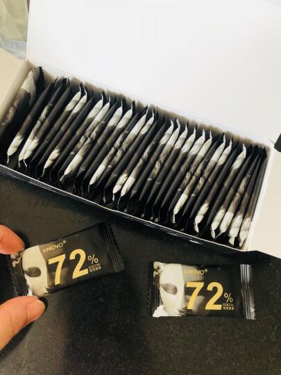 【顺丰配送】魔吻(AMOVO)纯可可脂巧克力礼盒装万圣节糖果 情人节生日送女友创意表白礼物顺 晒单图