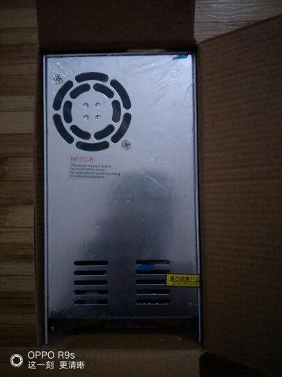 NVVV明伟开关电源24v15A S-350-24监控电源 LED灯带220v转24v直流变压器 晒单图