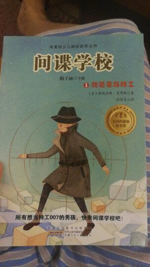 金麦田少儿国际获奖丛书·间谍学校1:我是菜鸟特工 晒单图