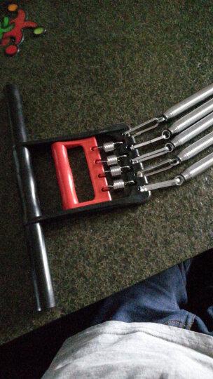 凯速  两用弹簧拉力器 五根电镀拉簧扩胸器拉力器握力器健身器材 红黑塑柄 晒单图