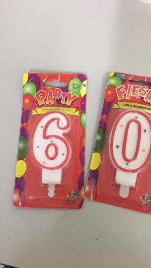 吉迅 创意儿童生日蜡烛蛋糕装饰 小兔子蜡烛 晒单图