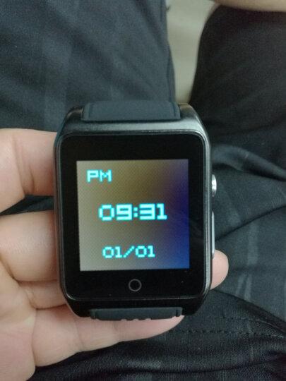 达沃奇 儿童智能电话手表成人可插卡男士防水wifi安卓超长待机多功能微信学生女运动手表拍照闪光灯学生 黑色 晒单图