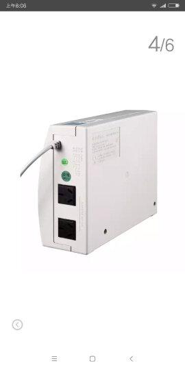 SANTAK山特UPS TG500 /500VA/300W全国联保 内置电池后备式ups不间断电源 晒单图