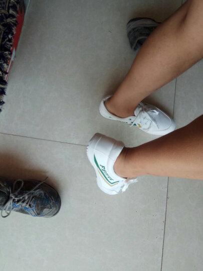 飞跃(Feiyue) 国货经典款帆布鞋男运动鞋板鞋情侣复古风学生帆布鞋 白/金(升级款) 44 晒单图