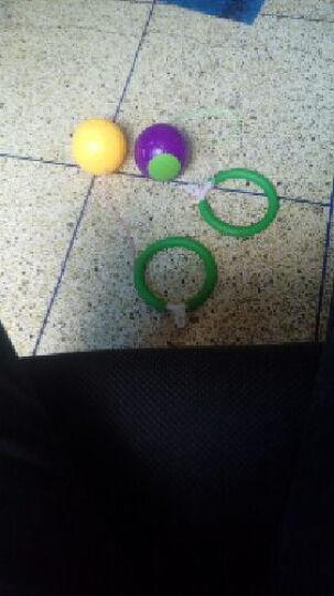 儿童成人蹦蹦球QQ炫舞跳跳球弹跳球单脚甩球幼儿园感统训练器材 Q跳跳球塑料圈买3个 晒单图