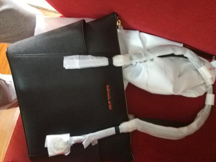 迈克·科尔斯 MICHAEL KORS MK女包 JET SET ITEM系列牛皮手提单肩包黑色 30F2GTTT8L BLACK 晒单图